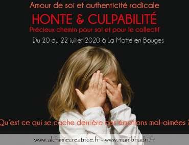 Stage Honte et Culpabilité Juillet 2020
